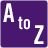 a to z icon